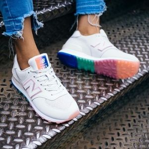 🌈New Balance 574 Outer Glow Sneakers